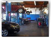 We have six service bays!