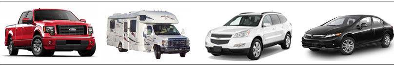 pictures of the different types of vehicles we work on